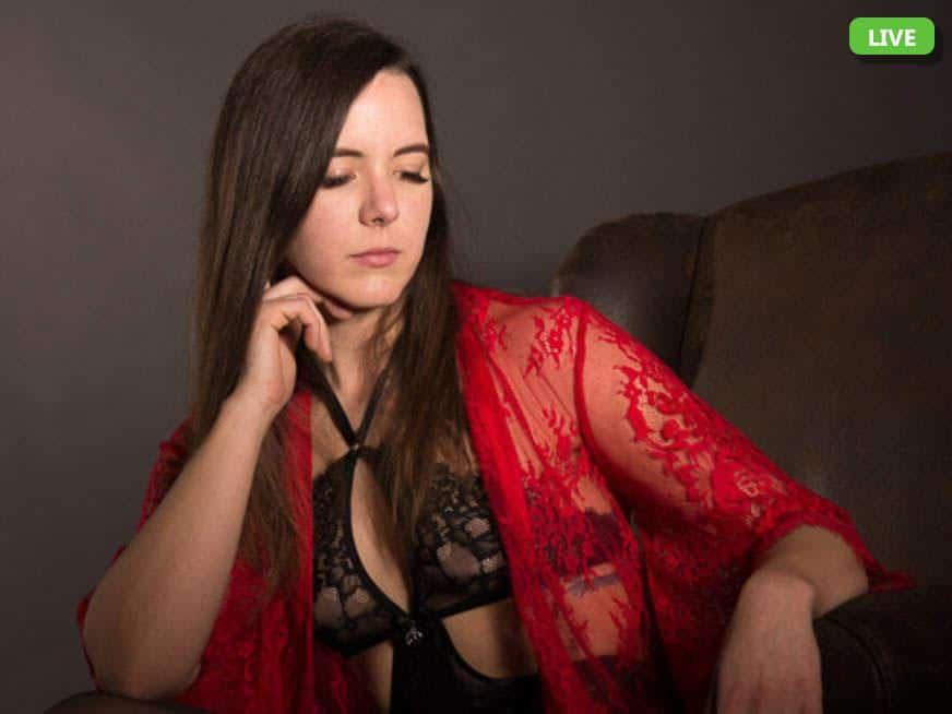 Hübsche Frau in deutscher Sexchat mit Livecam